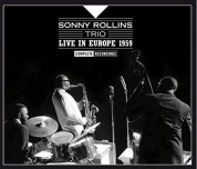 """Sonny Rollins: Live In Europe 1959 """"Complete Recordings"""" - CD"""