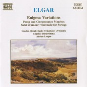 Slovak Radio Symphony Orchestra: Elgar: Enigma Variations / Pomp and Circumstance Marches Nos. 1 and 4 / Serenade for Strings - CD