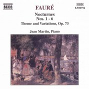 Faure: Nocturnes Nos. 1-6 / Theme and Variations, Op. 73 - CD