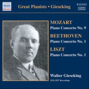 Walter Gieseking: Gieseking - Concerto Recordings, Vol. 2 - CD