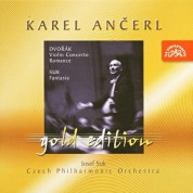 Josef Suk, Karel Ancerl: Dvorak: Violin Concerto, Romance / Suk: Fantasy - CD