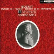 George Szell, The Cleveland Orchestra: Mozart: Symphony No. 35,39,40 - CD