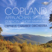 Orpheus Chamber Orchestra: Copland: Appalachian Spring - CD