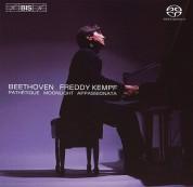 Freddy Kempf: Beethoven - Sonatas: Pathetique, Moonlight and Appassionata - SACD