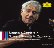 Bernstein - Complete Recordings on Deutsche Grammophon (Schubert, Mendelssohn, Schumann) - CD