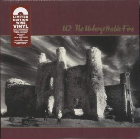 U2: The Unforgettable Fire (Wine Vinyl) - Plak