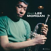 Lee Morgan: Here's Lee Morgan + 2 Bonus Tracks! (Images By Iconic Photographer Francis Wolff) - Plak