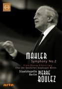 Diana Damrau, Petra Lang, Staatskapelle Berlin, Pierre Boulez: Mahler: Symphony No.2 - DVD