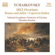 Ukraine National Symphony Orchestra: Tchaikovsky: 1812 Overture / Romeo and Juliet / Capriccio Italien - CD