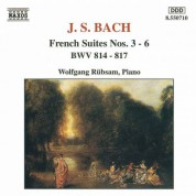 Bach, J.S.: French Suites Nos. 3-6, Bwv 814-817 - CD