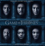 Ramin Djawadi: Game Of Thrones Season 6 Limited Numbered Tour Edition - Solid Red Vinyl) - Plak