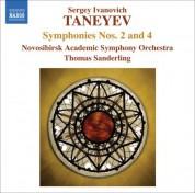 Thomas Sanderling: Taneyev: Symphonies Nos. 2 and 4 - CD