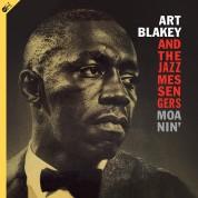 Art Blakey & The Jazz Messengers - Moanin' + Bonus Digipack Containing Moanin' Plus 4 Bonus Tracks! - Plak
