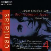 Bach Collegium Japan, Masaaki Suzuki: J.S. Bach: Cantatas, Vol. 4 (BWV 163, 165, 185, 199) - CD