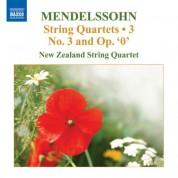 New Zealand String Quartet: Mendelssohn: String Quartets, Vol. 3 - CD