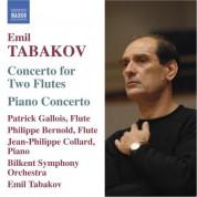 Emil Tabakov: Tabakov: Concerto for 2 Flutes / Piano Concerto - CD