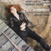 Sharon Bezaly, Malaysian Philharmonic Orchestra, John Neschling: Bridge across the Pyrenees - Flute Concertos - SACD