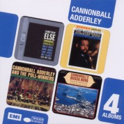 Cannonball Adderley: 4 CD Box Set (Somethin' Else / Them Dirty Blues / And The Poll-Winners / Bossa Nova) - CD