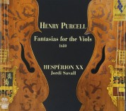Jordi Savall, Hesperion XX: Henry Purcell: Fantasias for the Viols, 1680 - SACD