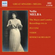 Nellie Melba: The Hayes and London Recordings (1921-1926) - CD