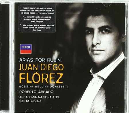 Juan Diego Flórez: Arias For Rubini - CD
