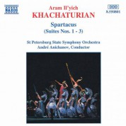 Khachaturian, A.I.: Spartacus, Suites Nos. 1- 3 - CD