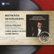 Itzhak Perlman, Philharmonia Orchestra, London Symphony Orchestra, Carlo Maria Giulini, André Previn: Beethoven/ Mendelssohn: Violin Concertos - CD