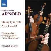 Maggini Quartet: Arnold: String Quartets Nos. 1 and 2 / Vita Abundans - CD