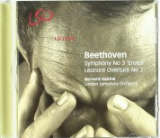 London Symphony Orchestra, Bernard Haitink: Beethoven: Symphony No 3, Leonore Overture No 2 - CD
