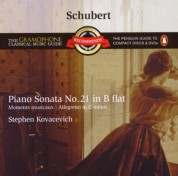 Stephen Kovacevich: Schubert: Piano Sonata No.21 in B Flat - CD