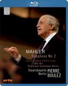 Diana Damrau, Petra Lang, Staatskapelle Berlin, Pierre Boulez: Mahler: Symphony No.2 - BluRay