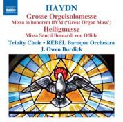 Owen Burdick: Haydn: Grosse Orgelsolomesse - Heiligmesse - CD