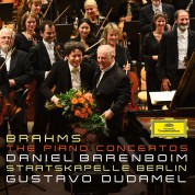 Daniel Barenboim: Brahms: The Piano Concertos - CD