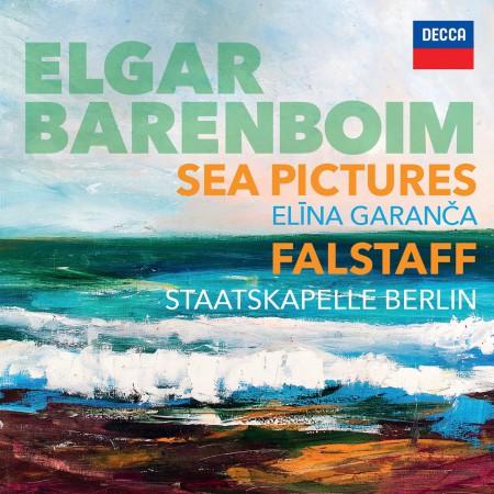 Daniel Barenboim, Elina Garanča, Staatskapelle Berlin: Elgar: Sea Pictures op.37 / Falstaff - CD