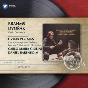 Itzhak Perlman, Chicago Symphony Orchestra, London Philharmonic Orchestra, Carlo Maria Giulini, Daniel Barenboim: Brahms/ Dvorak: Violin Concertos - CD