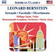 Philippe Quint, Bournemouth Symphony Orchestra, Marin Alsop: Bernstein: Serenade, Facsimile, Divertimento - CD
