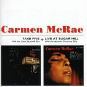 Carmen McRae: Take Five + Live at Sugar Hill - CD