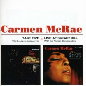 Carmen McRae: Take Five + Live at Sugar Hill - CD