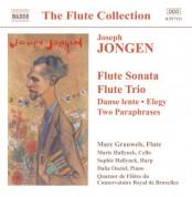 Jongen: Flute Sonata / Flute Trio / Danse Lente / Elegie - CD