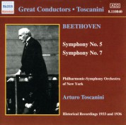 New York Philharmonic Symphony Orchestra: Beethoven Symphonies Nos. 5 and 7 (Toscanini) (1933, 1936) - CD