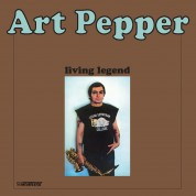 Art Pepper: Living Legend - Plak