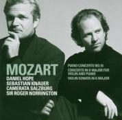 Sebastian Knauer, Daniel Hope, Camerata Salzburg, Roger Norrington: Mozart: Double Concerto, Piano Concerto No. 16, Piano Sonata Sona - CD