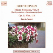 Beethoven: Piano Sonatas  Nos. 1-3, Op. 2 - CD