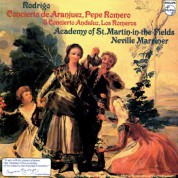 Pepe Romero, Academy of St. Martin in the Fields, Sir Neville Marriner: Rodrigo: Concierto de Aranjuez - Plak
