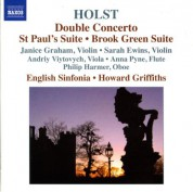Howard Griffiths: Holst: Double Concerto / St Paul's Suite / Brook Green Suite - CD