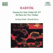 Bartok: Violin Sonata, Sz. 117 / 44 Violin Duos, Sz. 98 - CD
