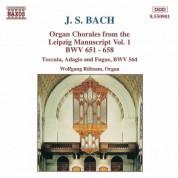 Bach, J.S.: Organ Chorales From the Leipzig Manuscript, Vol. 1 - CD