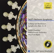 Wojciech Rajski, Polish Chamber Philharmonic Orchestra: Beethoven: Symphony No 3 & 4 (Half Speed Mastered) - Plak