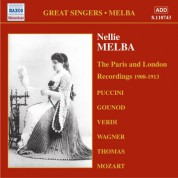 Nellie Melba: The Paris and London Recordings (1908-1913) - CD