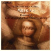 Bach Collegium Japan, Masaaki Suzuki: Handel - Messiah Highlights - CD